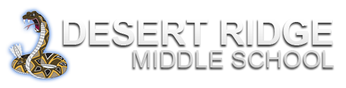 Desert Ridge Middle School  Logo